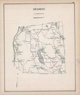 Deering, New Hampshire State Atlas 1892 Uncolored